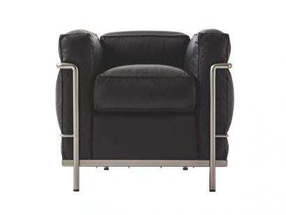 LC2 Fauteuil Grand Confort Durable Cassina by Le Corbusier, Pierre Jeanneret, Charlotte Perriand