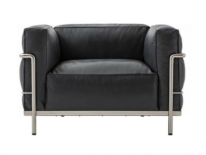 LC3 Fauteuil Grand Confort Durable Cassina by Le Corbusier, Pierre Jeanneret, Charlotte Perriand