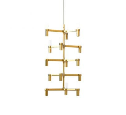 Crown Multi Gold - Pendant lamp