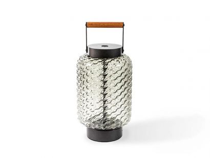 094 Ficupala Table Lamp  Outdoor-Smoked