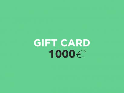 Carte Cadeau 1000