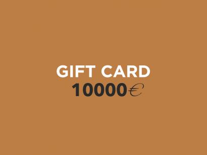 Carte Cadeau 10000