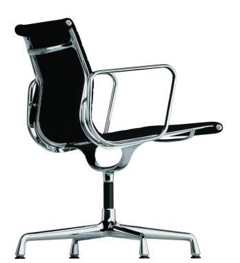 Aluminium Chair EA 107 Leather