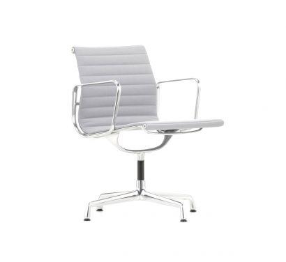Aluminium Chair EA 108 Swivel Leather