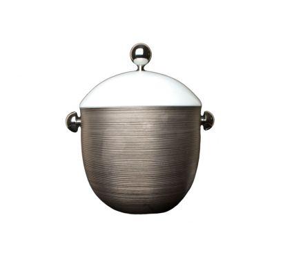Hémisphère Platinum Soupiere H. 25,5 cm