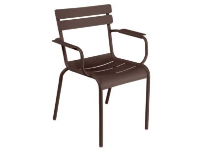 Luxembourg Armchair-Rust