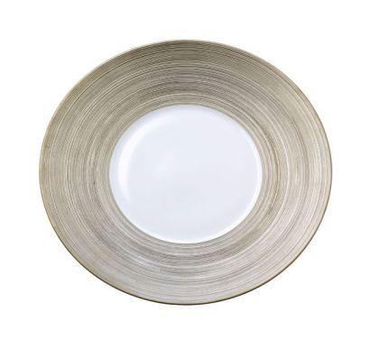 Hémisphère Platinum Assiette de Presentation Ø 31,5 cm