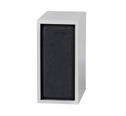Stacked Acustic Panel for Shelf System
