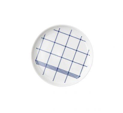 Mormor Blue Plate Small Ø 19 cm - H. 2 cm