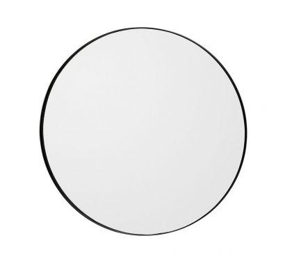 Circum Wall Mirror Black Ø 90 cm