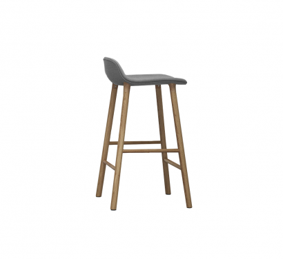 Form Full Uphostery Barstool