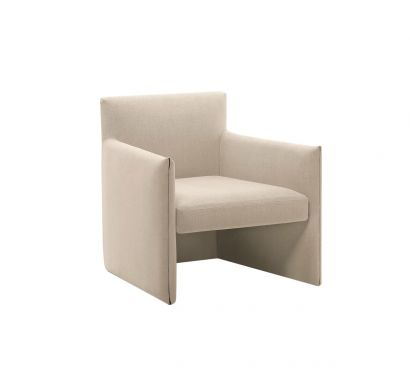 Double Lounge Chair - White