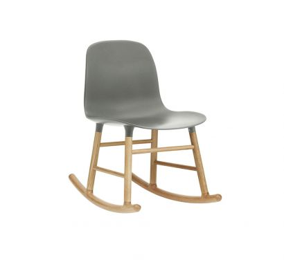 Form Full Upholstery Rocking Chair