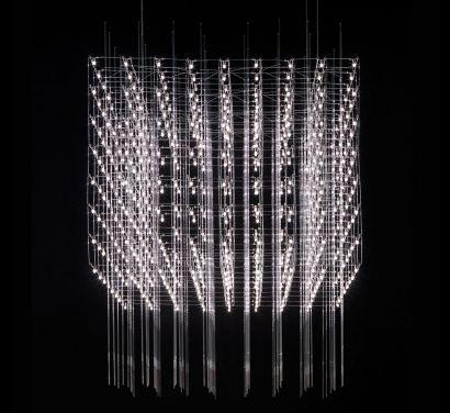Universe Square Suspension Lamp