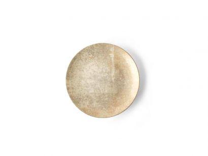Aida Plate Gold Ø. 22 cm