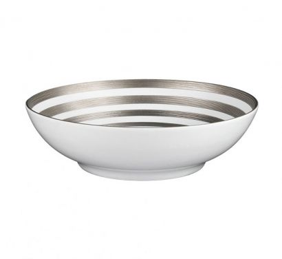 Hémisphère Platinum Stripe Bol Salade Ø 19,5 cm