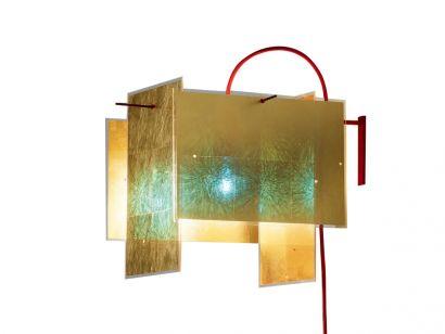 24 Karat Blau Wall Lamp Ingo Maurer