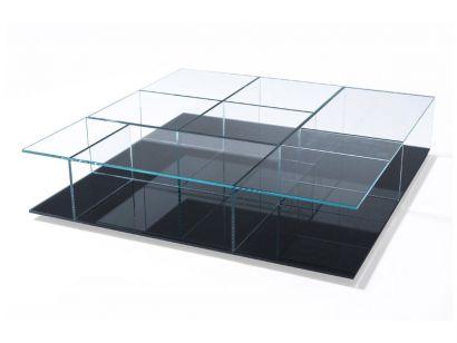 Mex 269 Set 3 Coffee Table -black
