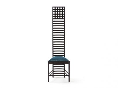 292 Hill House 1 Chair - Petrol - Cassina by Charles Rennie Mackintosh