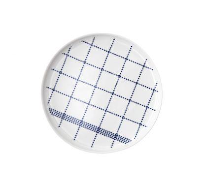 Mormor Blue Plate Large Ø 23 cm - H. 2 cm
