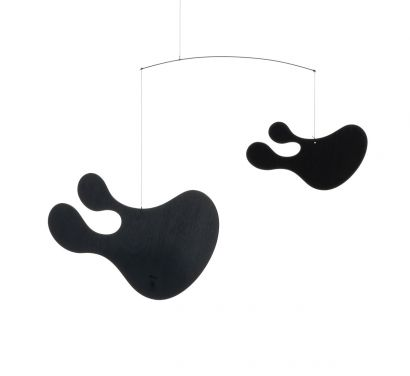 Plywood Mobile B Suspended Decoration