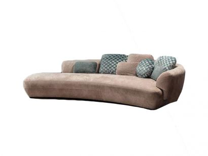 360 Confident Curved Sofa