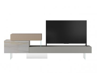 36e8 XGlass Tv Unit - 0746 Mood 1 Lago