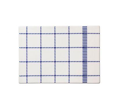 Mormor Blue Buttering Board Small L. 21,3 - P. 15 cm - H. 0,7 cm
