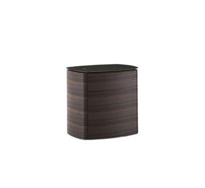 4040 Nightstand - Eucalyptus Frame/Marquinia Marble Top