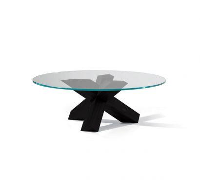 452 La Rotonda Coffee Table Black stained Ash