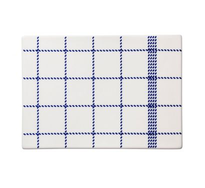 Mormor Blue Buttering Board Large L. 25,5 - P. 17,5 cm - H. 0,7 cm