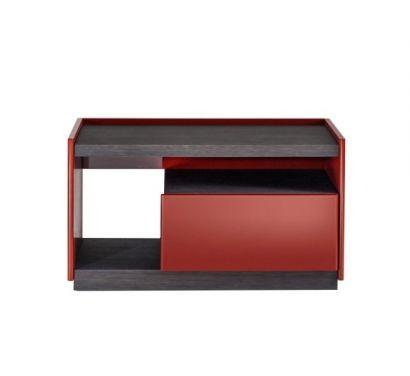 5050 Nightstand 90x50 Graphite/Ruby