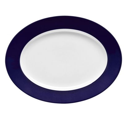 Sunny Day Cobalt Blue Assiette Fond Ø 23 cm