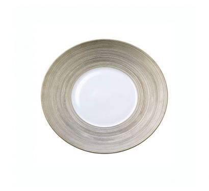 Hémisphère Platinum Assiette a Dessert Ø 21 cm