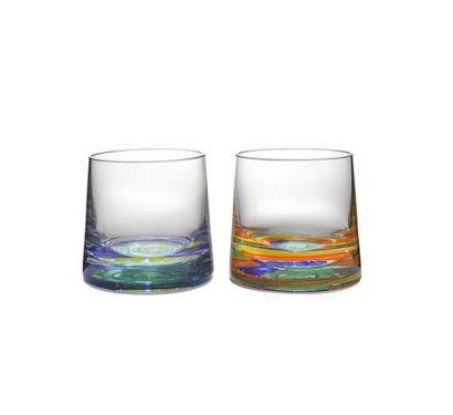 Candy Verre à Whiskey Glass Set de 2 pcs