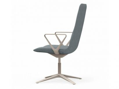 Slim 808 - Conference Medium 4 Chair with Armrests