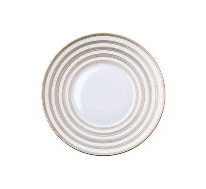 Hémisphère Platinum Stripe Assiette a Pain Ø 16 cm