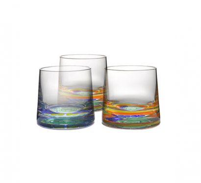 Candy Verre à Whiskey Glass Set de 6 pcs