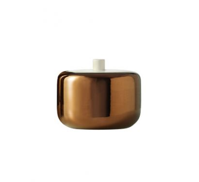 Colletti Bianchi Vase Copper Ø 20 cm - H. 16 cm