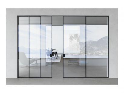 Como Glass Door