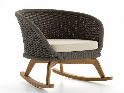 Ludo Rocking Chair - Cane-Line - Mohd