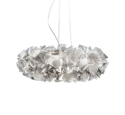 Clizia Suspension Lamp - Fumè