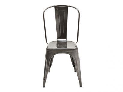 A Chair Brut Verni - Gris Lasure