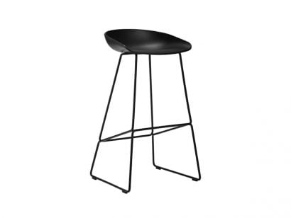 About A Stool AAS38 - Black/Black - H. 76