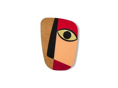 Abstrasso Mask #1 Masque Mural Medium