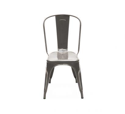 A Chair Outdoor - Acciaio Grezzo Verniciato
