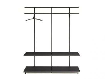 Aero V Coat Hanger - Black
