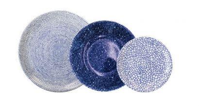 The White Snow Agadir Plates & Bowls Collection