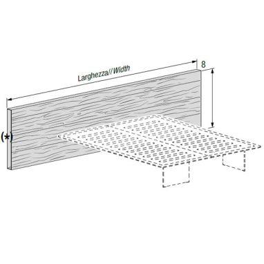 Freestanding headboard