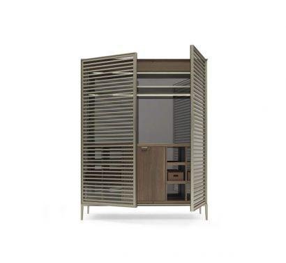 Alambra Fridge Unit Composition - Doors with crossbars